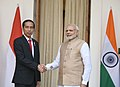 The Prime Minister, Shri Narendra Modi with the President of Indonesia, Mr. Joko Widodo, at Hyderabad House, in New Delhi on December 12, 2016 (3).jpg