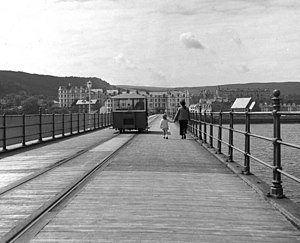 Queen's Pier Tramway - Queen's Pier Tramway, 1972