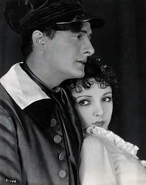 Gaston Glass - With Nina Quartero, in The Red Mark (1928 promotional photo)
