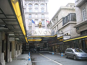 Fairmont Hotels and Resorts - Image: The Savoy Hotel, London geograph.org.uk 104070