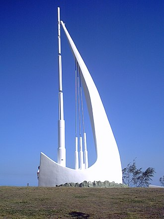 Emu Park, Queensland - The Singing Ship monument