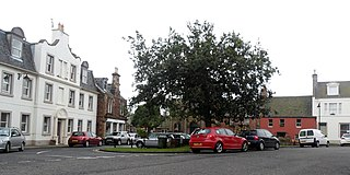 East Linton village in the United Kingdom