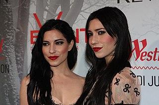 The Veronicas Australian pop duo