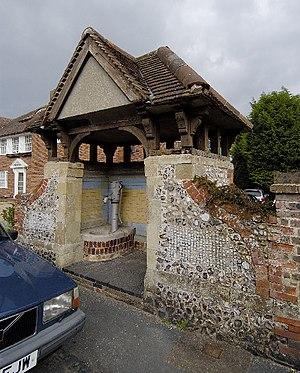 Willingdon and Jevington - Village pump, Upper Willingdon