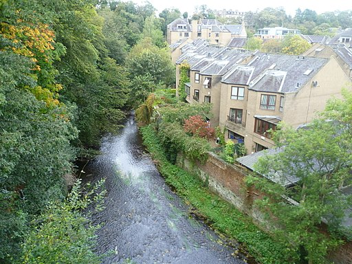 The Water of Leith, Edinburgh Scotland