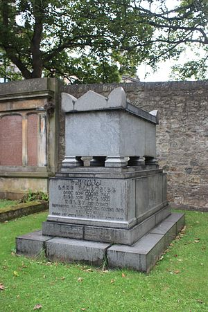 Robert Handyside, Lord Handyside - The grave of Robert Handyside, Dean Cemetery