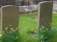 The gravestones of Douglas Haig and Dorothy Maud, his wife - geograph.org.uk - 1282541.jpg