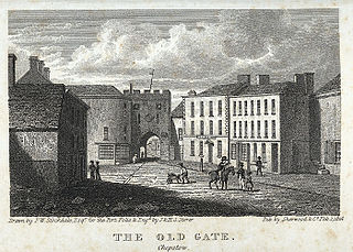 The old gate, Chepstow