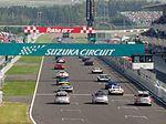 The starting grid at 2010 Pokka GT Summer Special.JPG