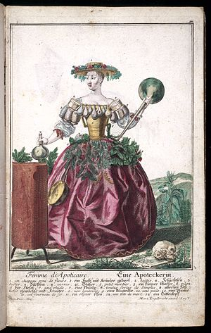 The wife of an apothecary. Wellcome L0028714.jpg