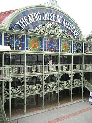 Theatro José de Alencar - Image: Theatro José de Alencar 01