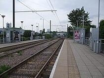 Therapia Lane tramstop look west.JPG