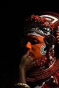 Theyyam at peeleri vayanaattukulavan kaavu 01.jpg