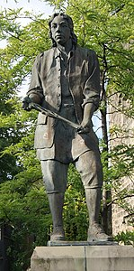 Thomas Chippendale statue, Otley (29th August 2017) (cropped).jpg