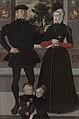Thomas Gerritzn Doesburch en Claesje Hendricksdr Roeclaes met hun dochters, Anonieme Meester, Noord-Nedands, 1559, Koninklijk Museum voor Schone Kunsten Antwerpen, 5034.jpg
