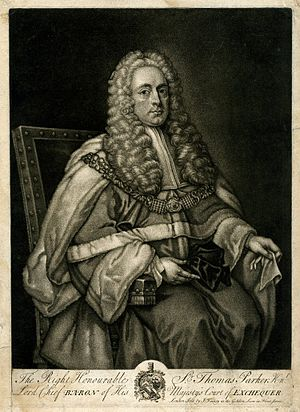 Thomas Parker (judge) - Sir Thomas Parker, Lord Chief Baron of the Exchequer