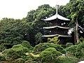 Three-storied Pagoda, Chinzan-so (3008504925).jpg
