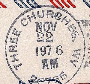 Three Churches, West Virginia - Three Churches, West Virginia Postmark