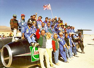 ThrustSSC - The team with ThrustSSC