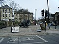 Tilted Vase sculpture, Market Place, Ramsbottom. - geograph.org.uk - 1769317.jpg