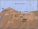 Map of Dili