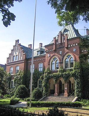 District courts of Sweden - Image: Tingshuset, Ystad