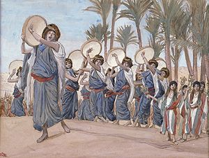 Haazinu - The Songs of Joy (watercolor circa 1896–1902 by James Tissot)