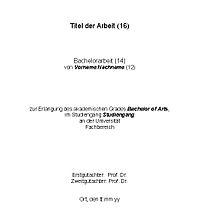 Beispiel Dissertation Abstracts Snowjpg Literaturverzeichnis Beispiel ...