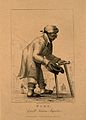 Toby, a beggar who pretended to be blind and crippled. Engra Wellcome V0007332.jpg