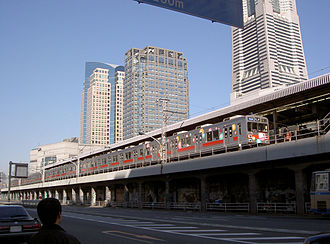 Tōkyū Tōyoko Line - The former Sakuragicho Station platforms in January 2004