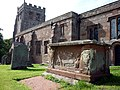 Tomb of the Waltons of Hilbeck, St Michael's Church, Brough - geograph.org.uk - 2036174.jpg
