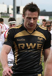 Tommy Bowe Rugby union player from Ireland