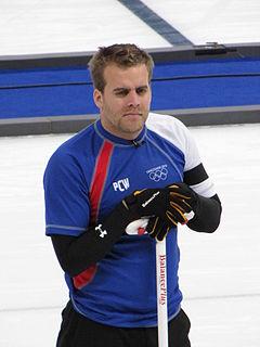 Tony Angiboust French curler