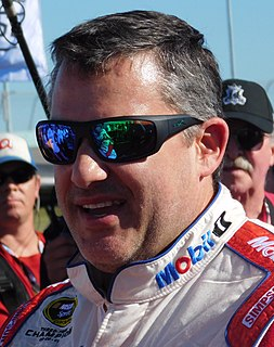 Tony Stewart American racing driver and team owner