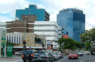 Toowong - The commercial area of Toowong