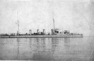 Wm. Crichton & Co. Okhta shipyard - Poslushnyi was Crichton's first torpedo boat built at the Okhta yard.