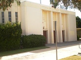 Auditorium (Torrance High School) - Image: Torrance High School Assembly Hall