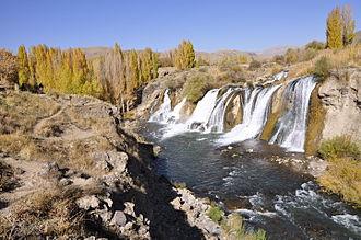 Tortum Waterfall - Tortum Waterfall in Eastern Turkey