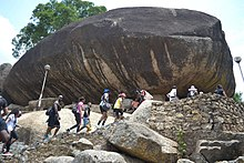 Tourists and mountaineers on the rock.jpg