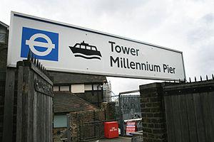 Tower Millennium Pier - Image: Tower Millennium Pier 4
