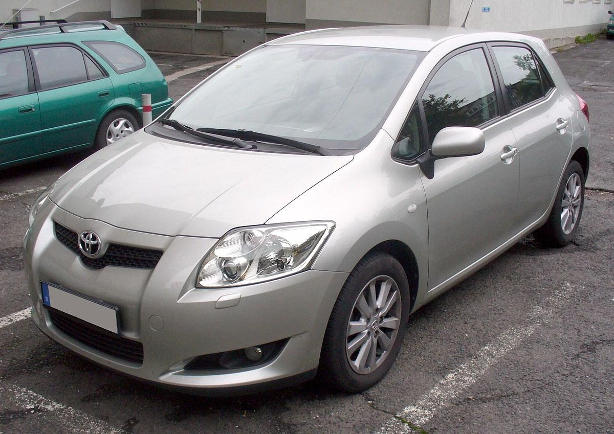 toyota auris wikipedia. Black Bedroom Furniture Sets. Home Design Ideas