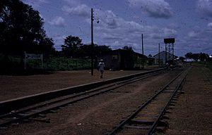 Railway stations in Sierra Leone - Magburaka station
