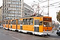 Tram in Sofia near Macedonia place 2012 PD 049.jpg