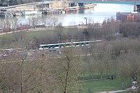 Tramway Ligne 2 vu depuis Parc St Cloud 3.jpg
