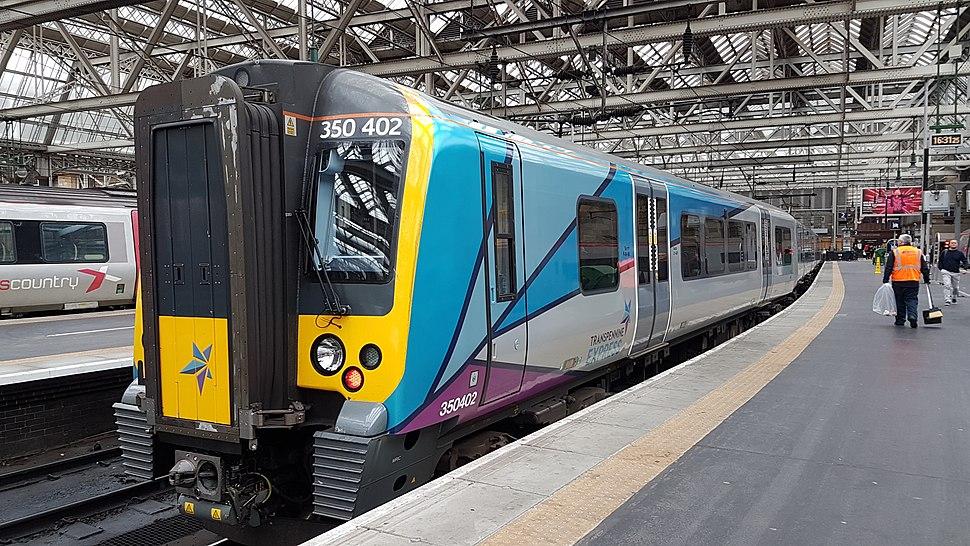 TransPennine Express 350402 at Glasgow Central