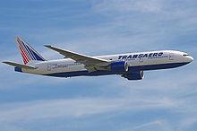 777-200 была первой модификацией самолёта и предназначалась для Сегмента А. Первый 777-200 был передан авиакомпании...