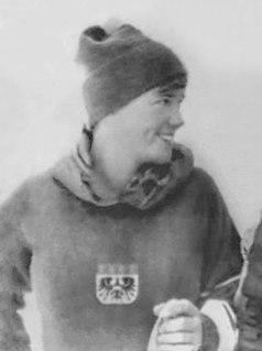 Traudl Hecher alpine skier