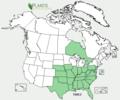 Trifolium reflexum NA-dist-map.png