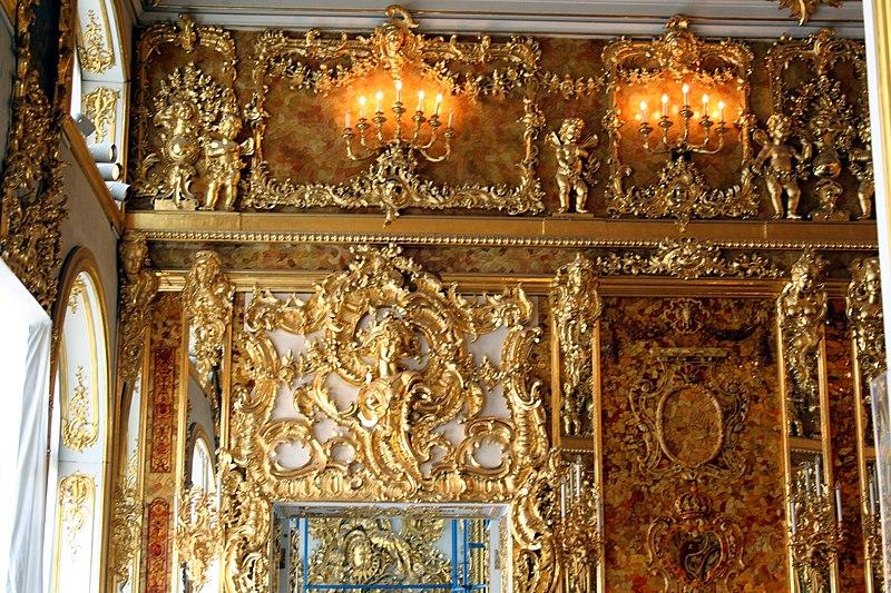 File:Tsárskoye Seló - Amber Room.jpg
