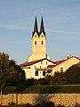 Tuntenhausen, Wallfahrtskirche Mariä Himmelfahrt, Zwillingstürme, Westseite (1).jpg